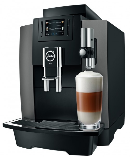 Kaffeevollautomat WE 8 dark inox