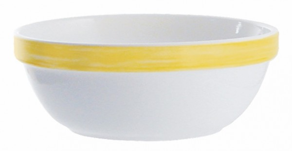 Stapelschale Brush yellow, 12cm Arcoroc